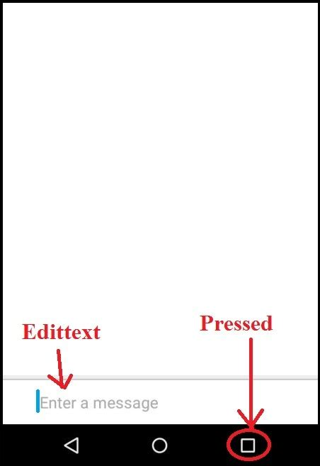 android edittext height resize based on keyboard stack android don t show soft keyboard automatically stack