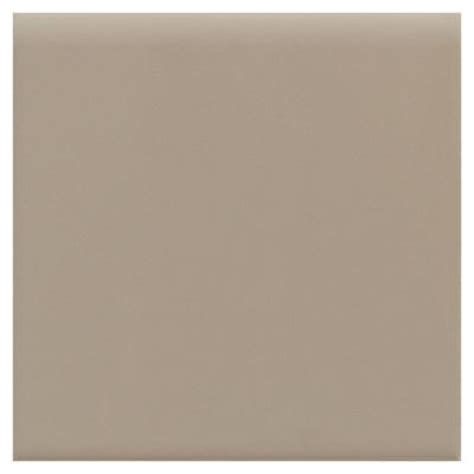 daltile matte uptown taupe 4 1 4 in x 4 1 4 in ceramic bullnose wall tile 0732s44491p1 the
