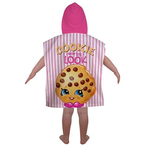 Shopkins Original Session 5 B shopkins shopaholic poncho hooded towel 100 official