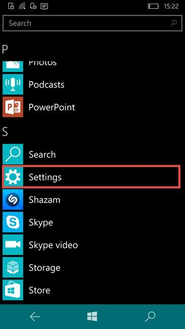 how to change the display language in windows phone 81