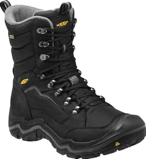 mens keen snow boots keen durand polar wp winter boots s at rei