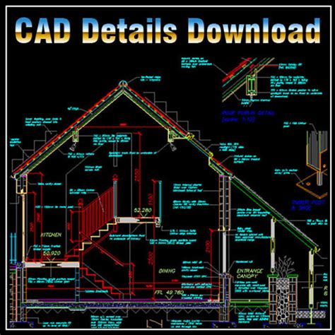 autocad section drawing house section cad library autocad blocks autocad