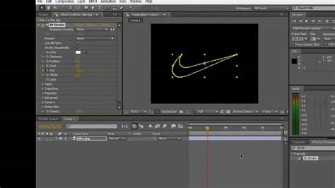 after effects cs4 tutorial 3d stroke tutorial adobe after effects cs4 youtube