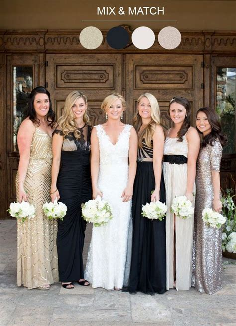 25  Best Ideas about Mix Match Bridesmaids on Pinterest