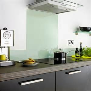 Kitchen Splash Guard Ideas by Kitchen Rear Wall From Glass The Modern Tile Mirror