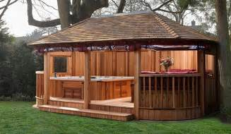 Free Plans For Wooden Outdoor Furniture by Crown Spa Collection Spa Garden Rooms Tub Garden Buildings
