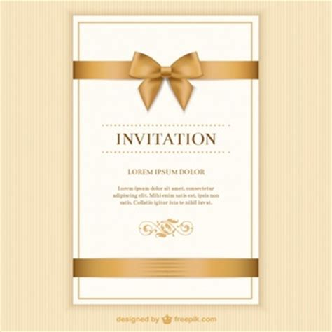 design invitation card unveiling best design invitation card template vector free download