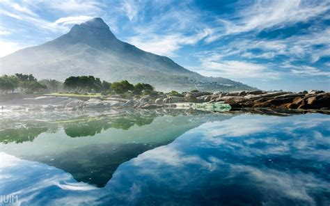 nature landscape reflection photography wallpapers hd