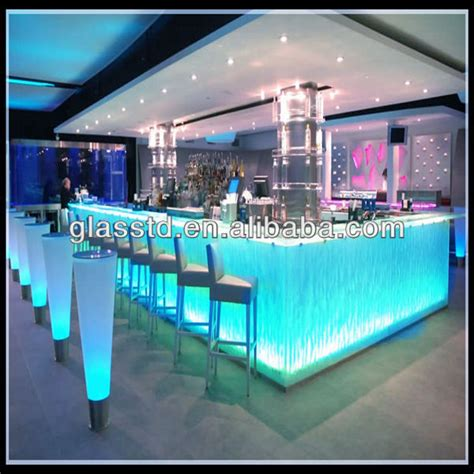 how high should a bar top be dignity blown glass bar counter top with rounded edge view glass bar counter top t d