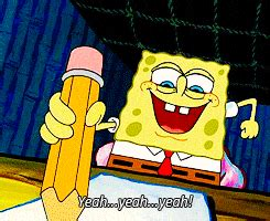 Spongebob Doing Essay by Of A Science Major As Told By Spongebob Squarepants