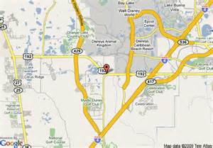 map of americas best value inn and suites kissimmee