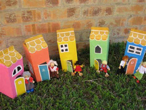 How To Make Paper Mache Houses - joyful s place papier mache houses
