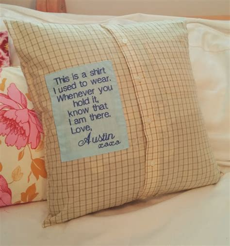 Memory Pillow by Memory Pillow Stacysews