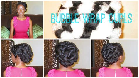 Wedding Hairstyles No Heat by No Heat Large Wrap Curls On 4c Hair