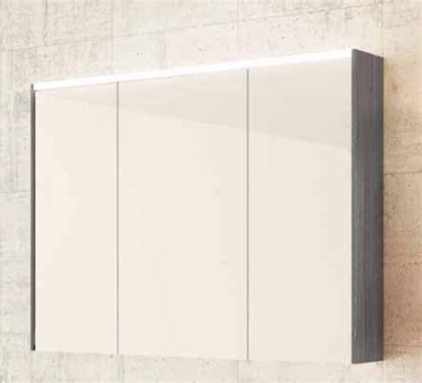 Spiegelschrank 3 Türig Mit Beleuchtung by Sieper Khalix Spiegelschrank Mit Led Beleuchtung Anthrazit