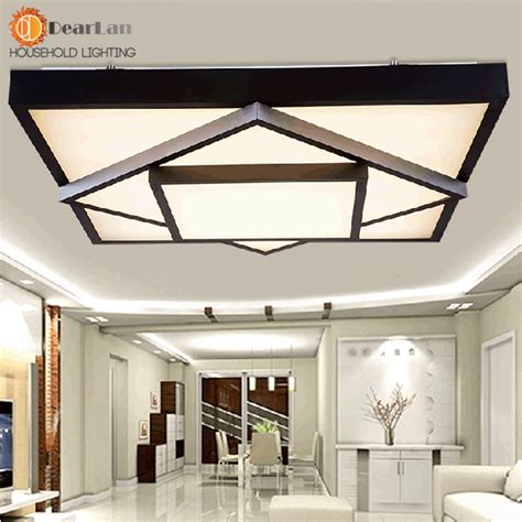 brief modern style square led ceiling light led light