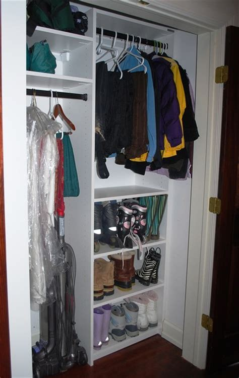 Coat Closet Shelving Coat Closet Modern Closet Baltimore By California