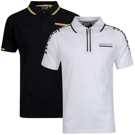 Skumanick Polo Shirt 3 everlast s 2 pack polo shirt white raglan sleeve and black tipped polo sports leisure