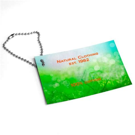 personalised swing tags custom made leather swing tags