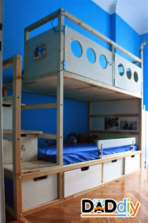 kura bunk bed kura transformation ikea hackers ikea hackers