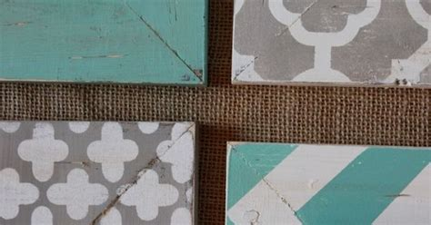 grey pattern turquoise manduca distressed frames set of modern funky pattern in grey and
