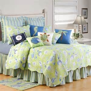 And f bedding green shells bedding jpg
