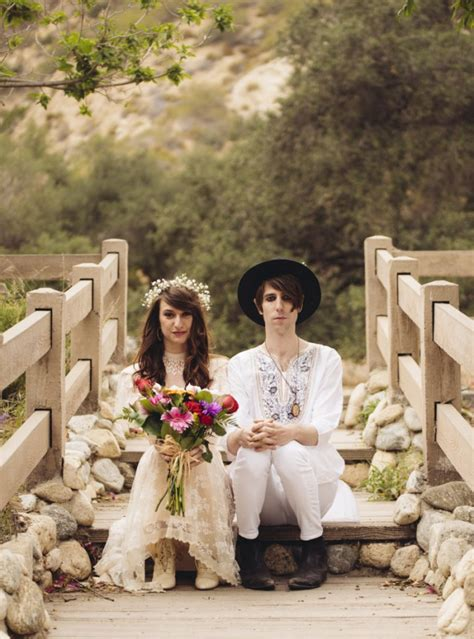 guerilla wedding at griffith park observatory 183 rock n roll