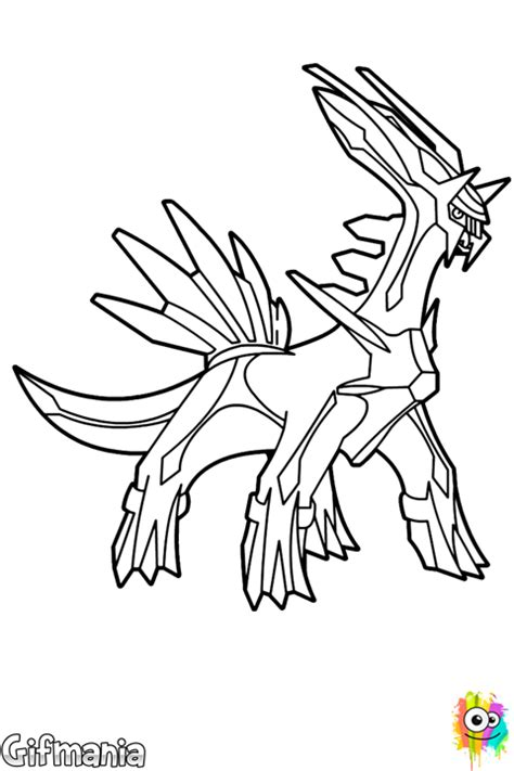 dialga coloring pages coloring pages