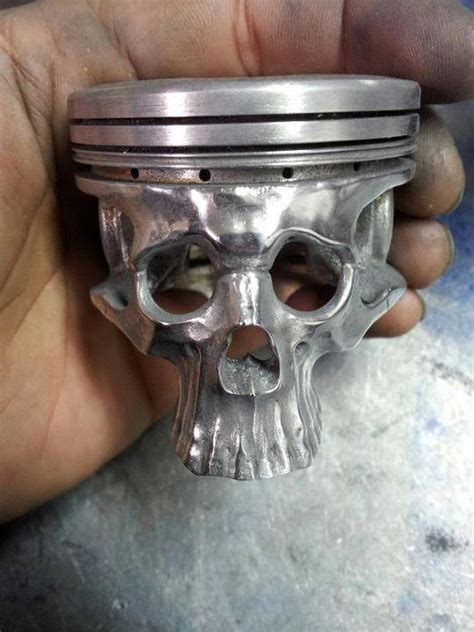 skull inspiration piston skull
