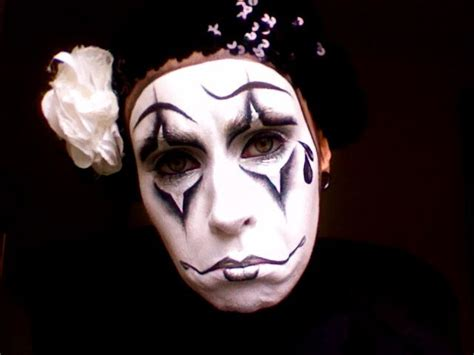 tutorial makeup mime 20 best images about pierrot clown on pinterest how to