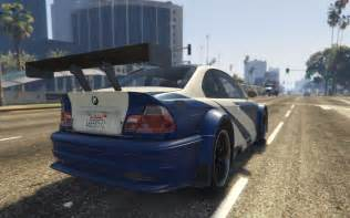 bmw m3 gtr e46 quot most wanted quot gta5 mods