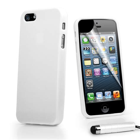 iphone 5g white gel cover for apple iphone5 iphone 5 5g stylus ebay
