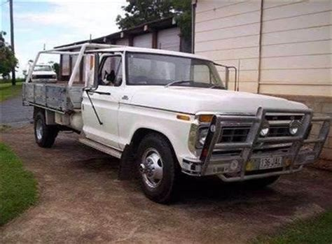 1977 used ford f350 f series tray car sales gympie qld 7 500