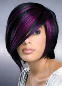 black with purple hair 1000 images about hairstyles on pinterest a line bobs