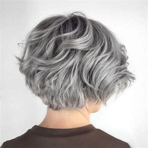picture of gray wavy bob 390 best hair images on pinterest curly bob hair hair