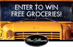 Mrs Cubbison S Sweepstakes - mrs cubbison s back to school sweepstakes win a 2 500 grocery store gift card