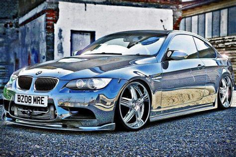 whoa awesome shiny metallic silver paint on bmw bmw color combos silver paint