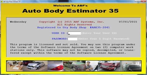 Automotive Estimator by Automotive Repair Estimate Software Anuvrat Info
