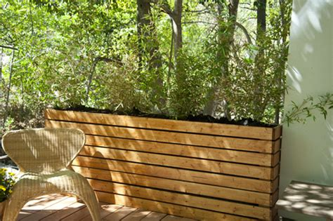 How To Build Deck Planter Boxes by 12 Outstanding Diy Planter Box Plans Designs And Ideas