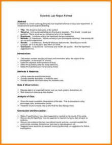 biology lab report template how to write an abstract for a lab report