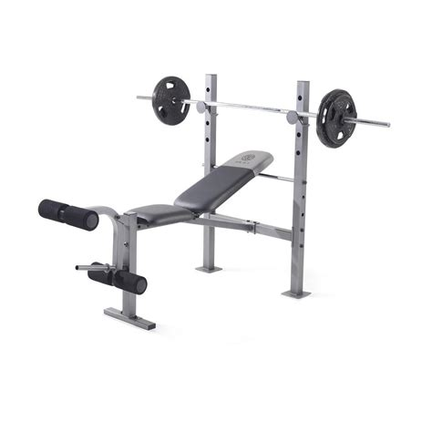 exercise bench price gold s gym xr 6 1 weight bench ggbe60610 the home depot