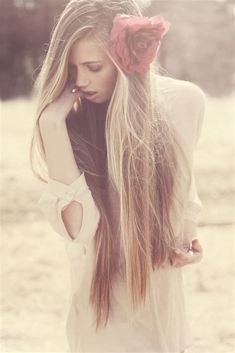 gorgeous long blonde hair amazing beautiful blonde girl hair image 413575 on