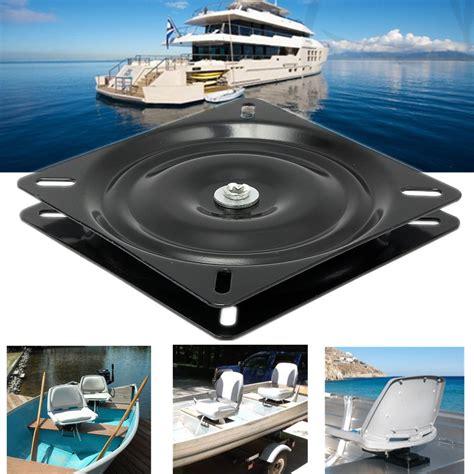 boat seat mount base 7inch 360degree swivel marine boat seat coated mount base