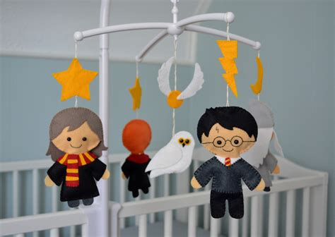 Harry Potter Crib Mobile by The Cozy Birdhouse A Harry Potter Crib Mobile