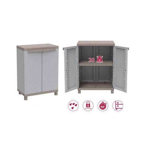 armadio rattan da esterno armadio in resina basso effetto rattan armadietto 2ante