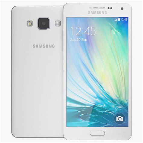 Samsung Galaxy A White samsung galaxy a5 white 3d model max obj c4d cgtrader