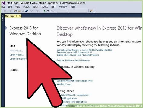 visual studio express 2013 reset settings how to install and setup visual studio express 2013 9 steps