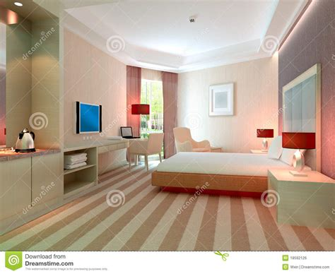 3d rooms 3d bedroom rendering hotel rooms royalty free stock image