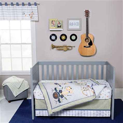 Jcpenney Crib Bedding Sets by Trend Lab 174 Safari Rock Band 6 Pc Crib Bedding Set Jcpenney