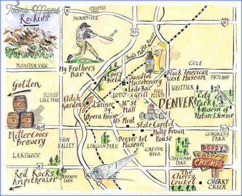 to colorado map colorado map tourist attractions map travel